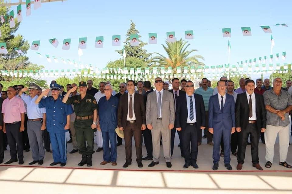 إحياء اليوم الوطني للمجاهد و الذكرى المزدوجة لمؤتمر الصومام و هجوم الشمال القسنطيني